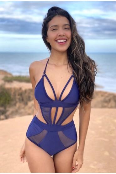 Ibiza blue Glitter Alikebikini