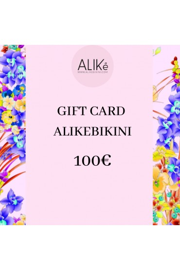 Gift card 100,00 euro